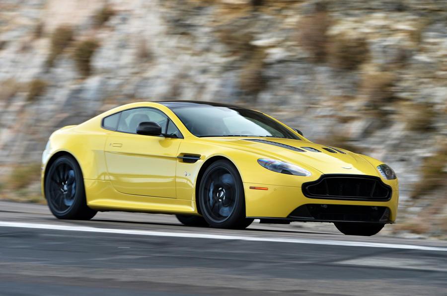 Aston Martin V12 Vantage S side profile