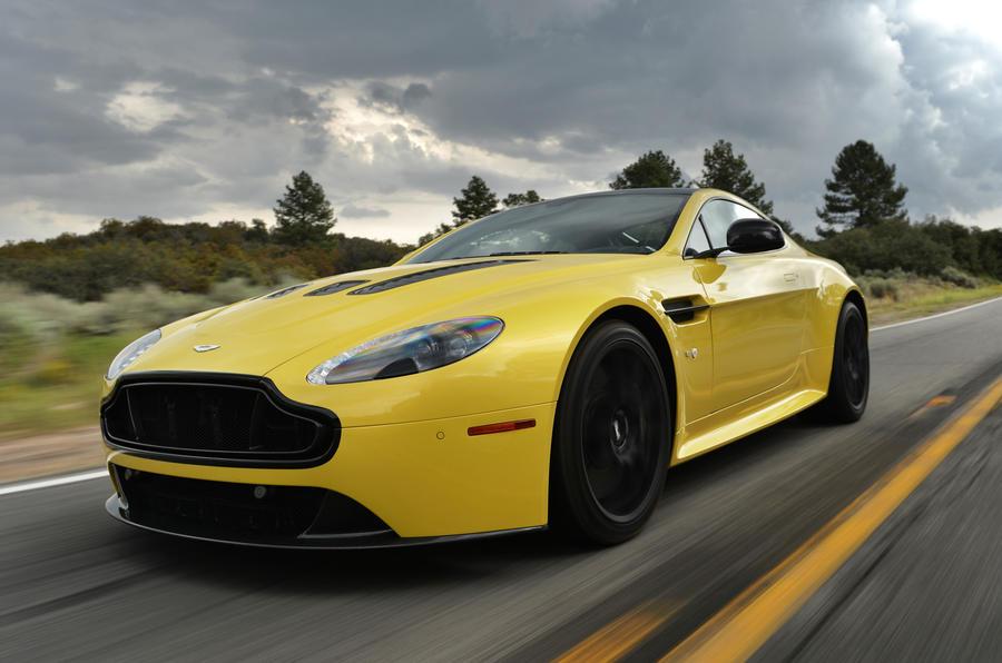 Aston Martin V12 Vantage S front quarter