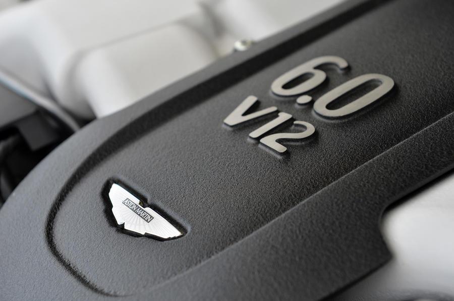 6.0-litre Aston Martin V12 engine
