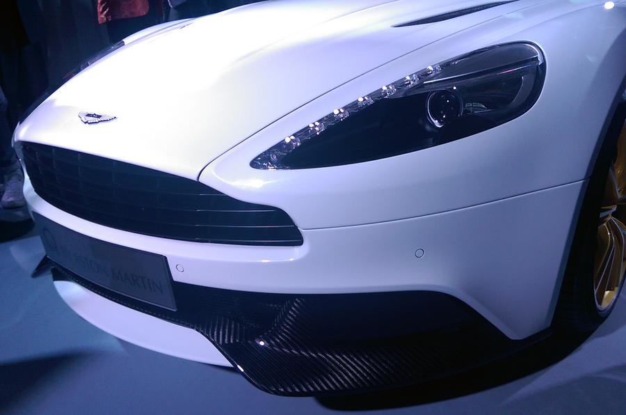 Limited-edition Aston Martin Vanquish models revealed