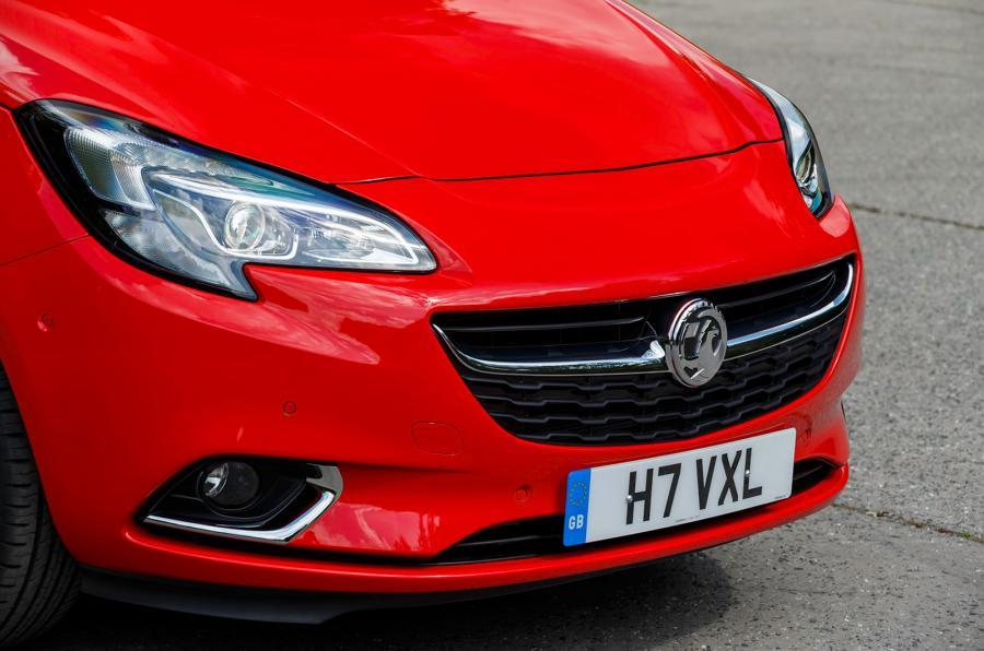 Adam-inspired Vauxhall Corsa nose
