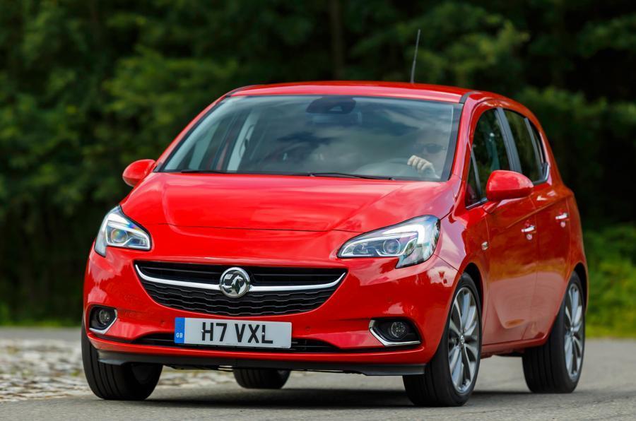 Vauxhall Corsa cornering