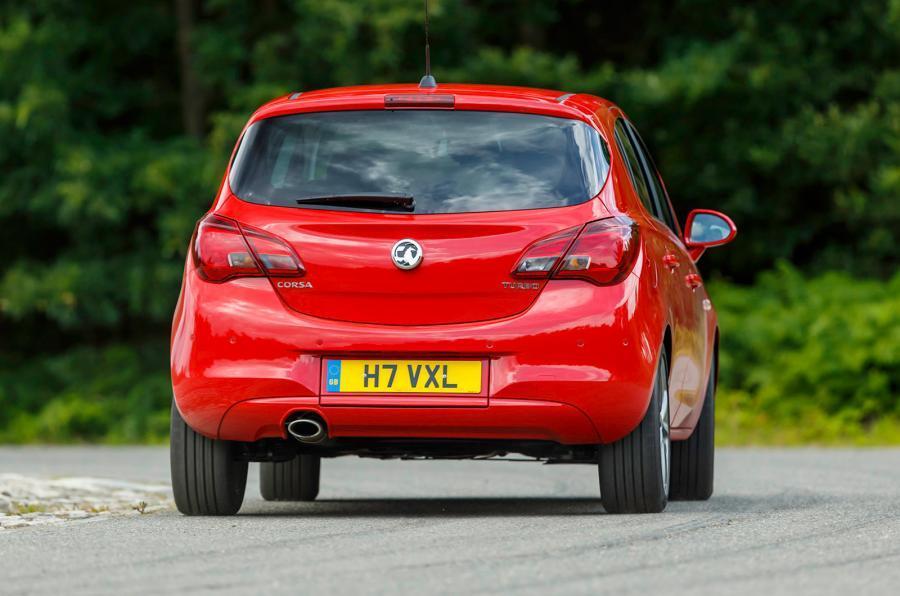 Vauxhall Corsa rear
