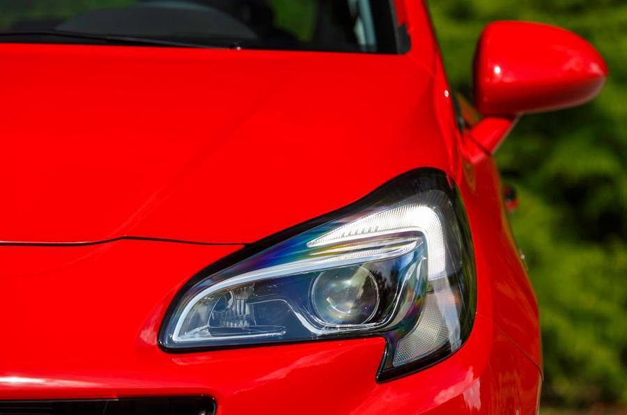 Vauxhall corsa headlight