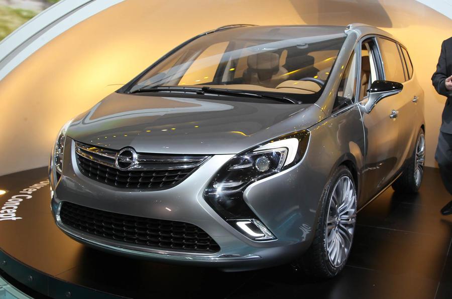 Geneva motor show: Vauxhall Zafira