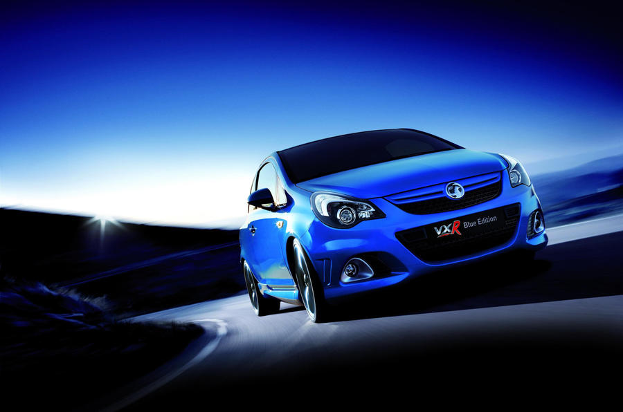 Corsa VXR Blue unveiled