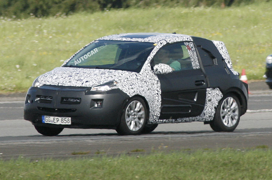 Vauxhall Junior – new spy pics