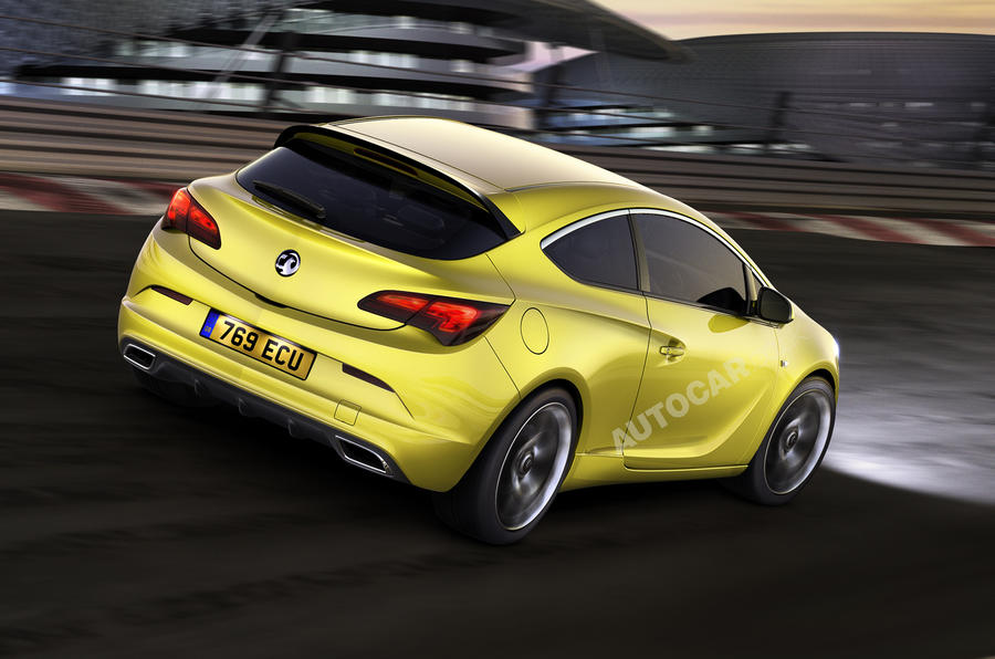 Vauxhall Astra VXR uncovered