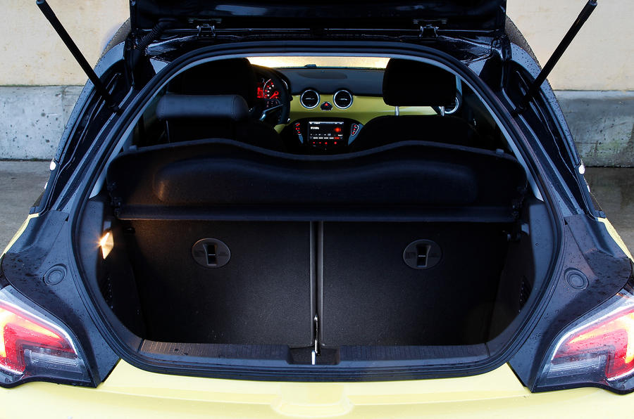 Vauxhall Adam Slam boot space