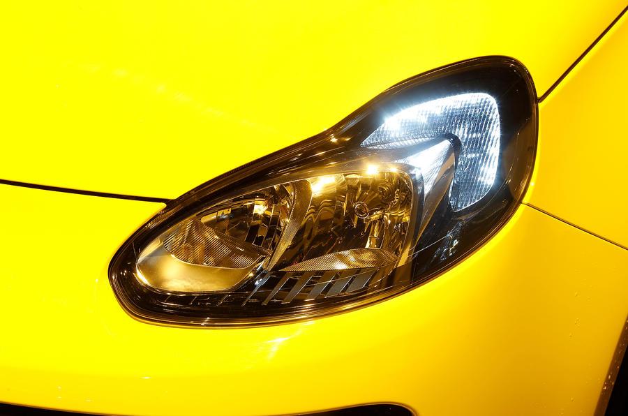 Vauxhall Adam Slam headlights