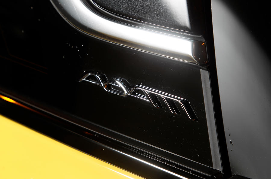 Vauxhall Adam badge