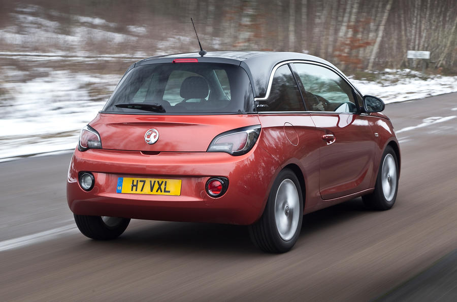 Vauxhall Adam rear quarter
