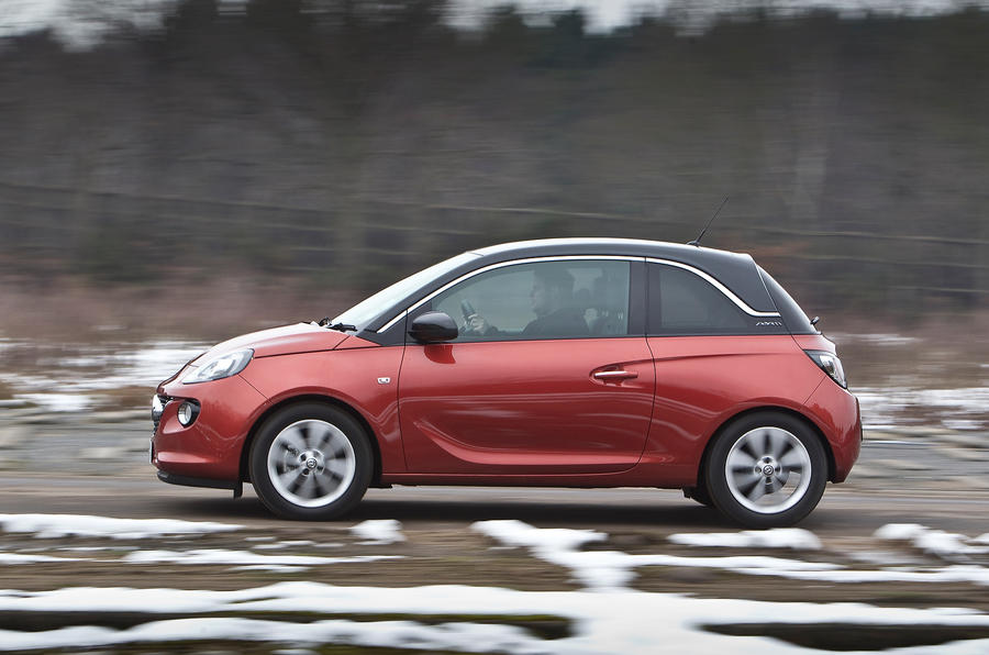 Vauxhall Adam side profile