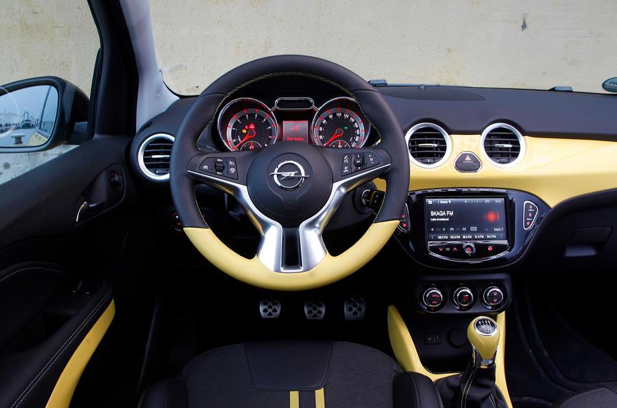 Vauxhall Adam Slam dashboard