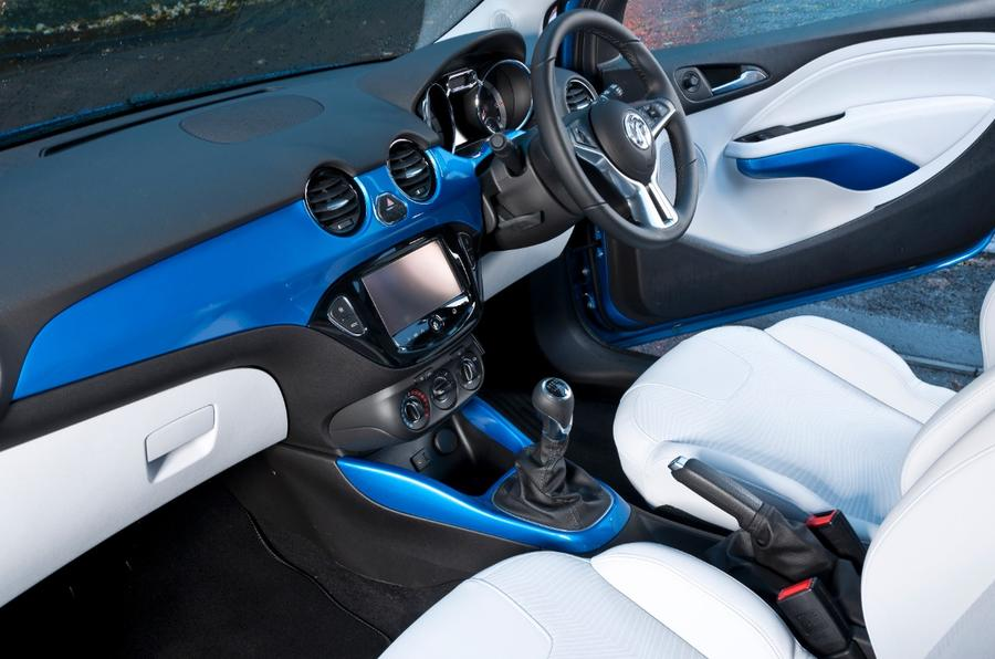 Vauxhall Adam interior