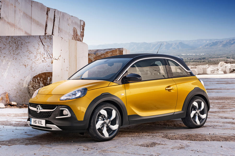 Vauxhall Adam Rocks crossover revealed in final spec