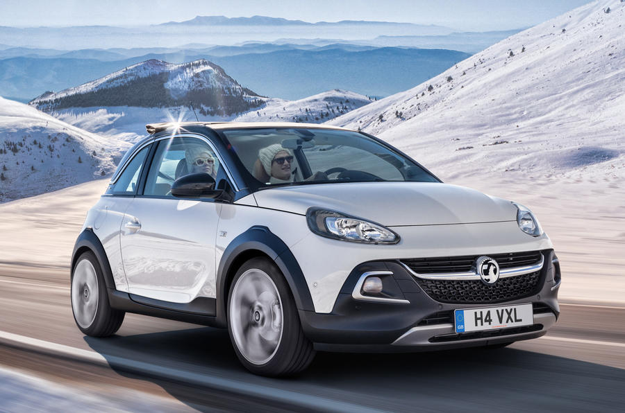 Vauxhall Adam Rocks crossover revealed in final spec