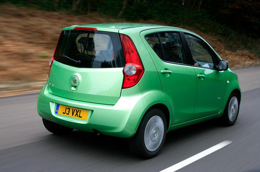 Vauxhall Agila rear quarter