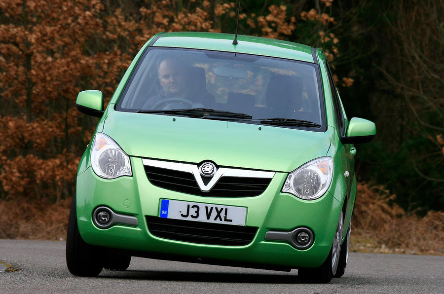 Vauxhall Agila cornering