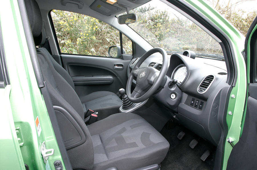 Vauxhall Agila interior