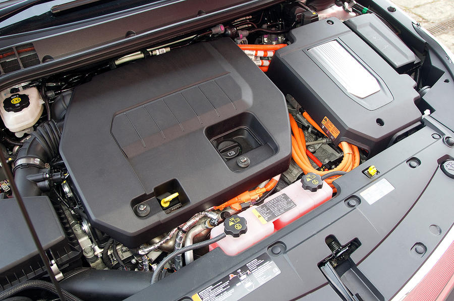 Vauxhall Ampera petrol-electric engine