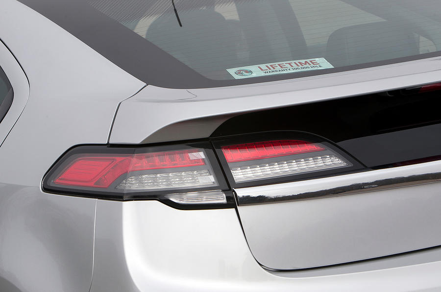 Vauxhall Ampera rear lights