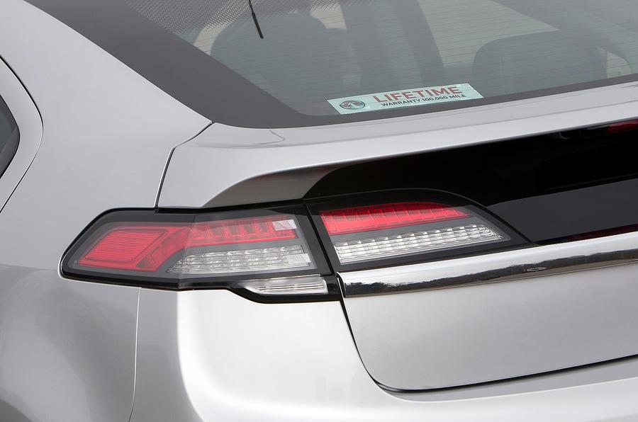Vauxhall Ampera rear lights