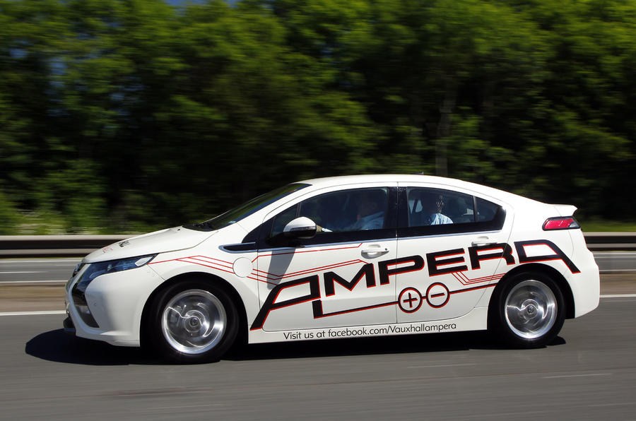 Ampera from £29k after grant