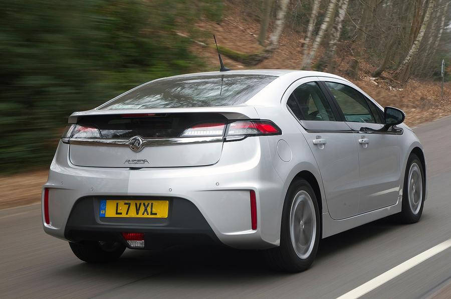 Vauxhall Ampera rear quarter