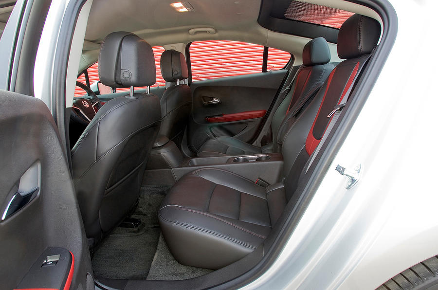 Vauxhall Ampera rear seats