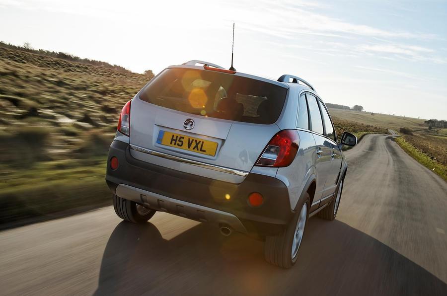 Vauxhall Antara rear quarter