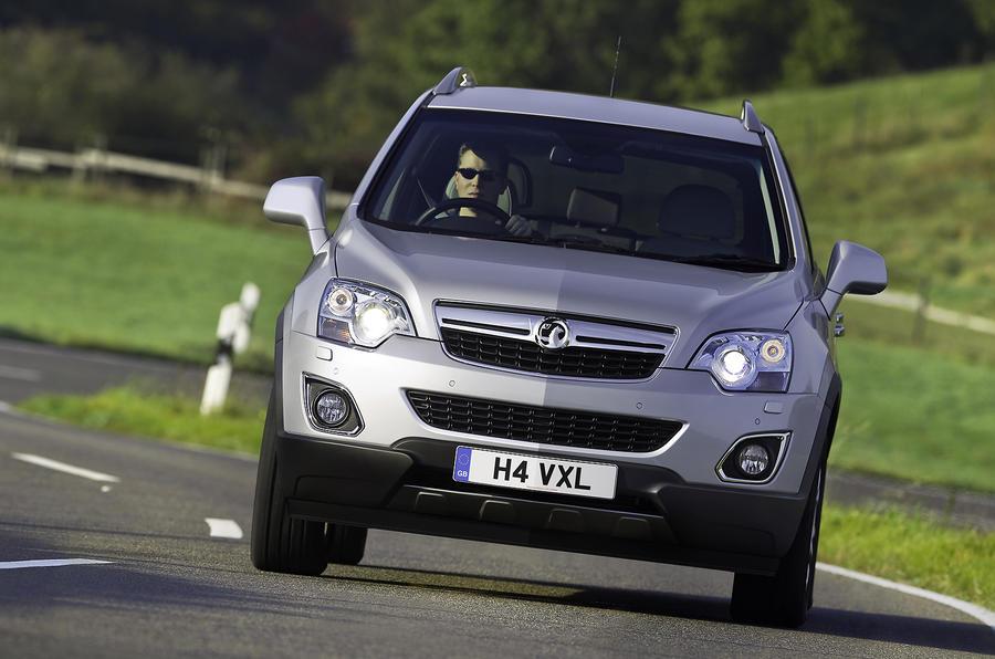 Vauxhall Antara cornering
