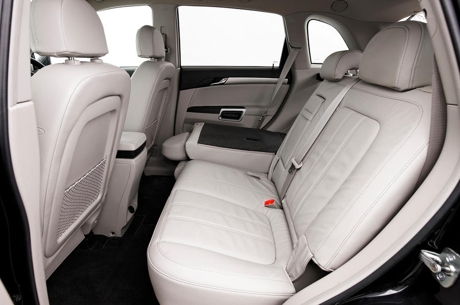 Vauxhall Antara rear seats