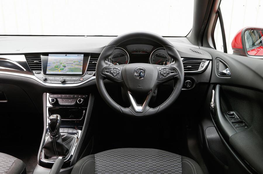 Vauxhall Astra Interior Autocar