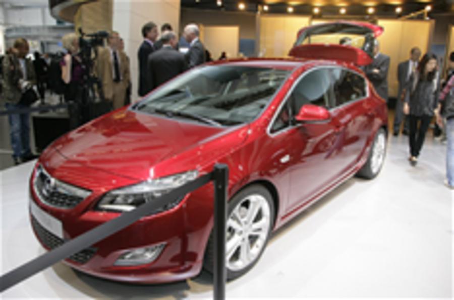 Frankfurt motor show: Vauxhall Astra