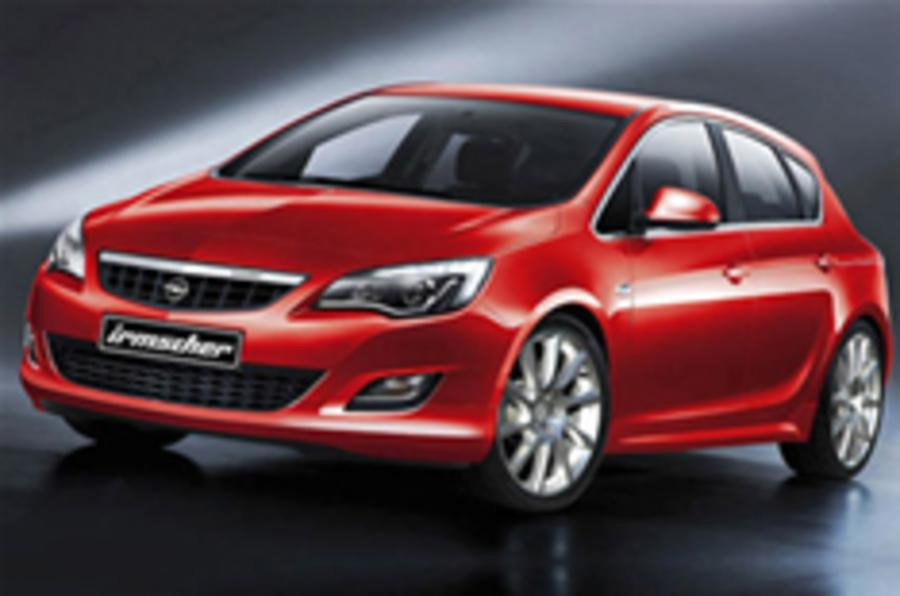 Vauxhall Astra Irmscher revealed