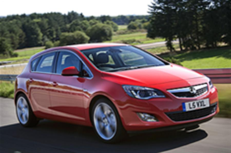 New Vauxhall Astra engine range
