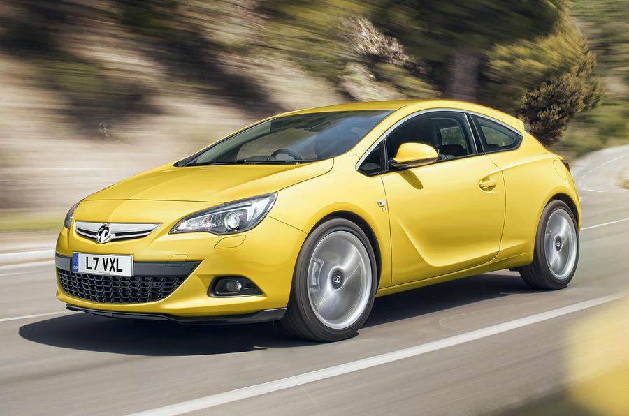 Vauxhall Astra GTC revealed