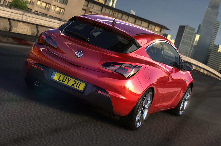 Vauxhall Astra GTC unveiled