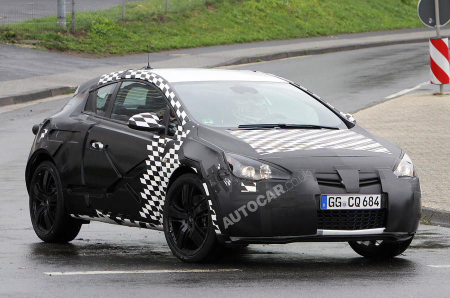 New 280bhp Astra VXR scooped