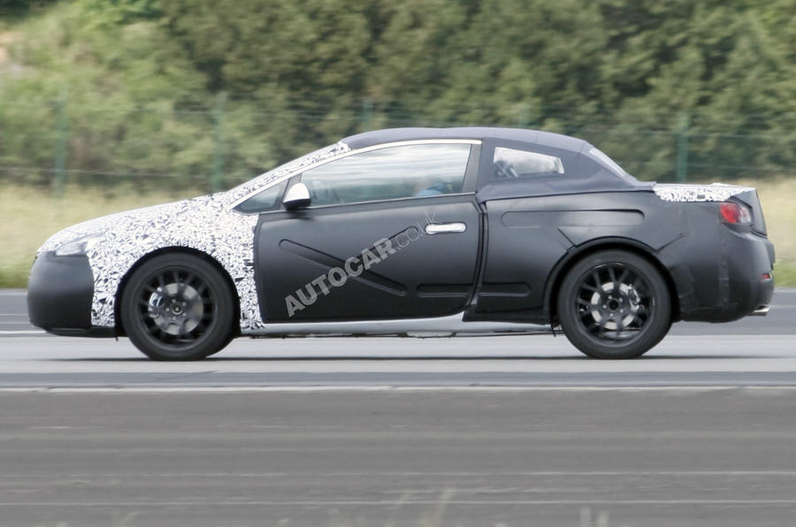 New Astra cabrio scooped
