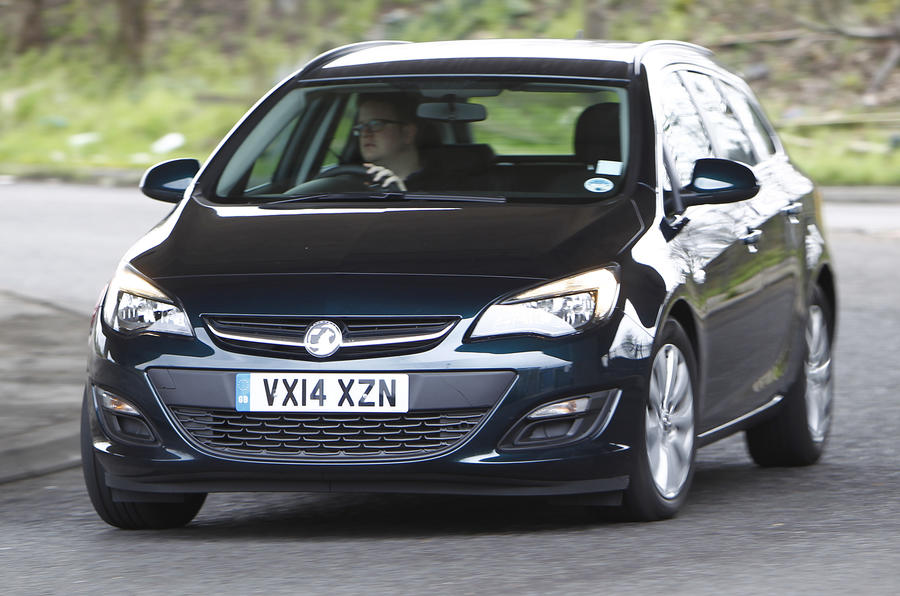 Vauxhall Astra Sports Tourer 1.6 CDTi first drive review