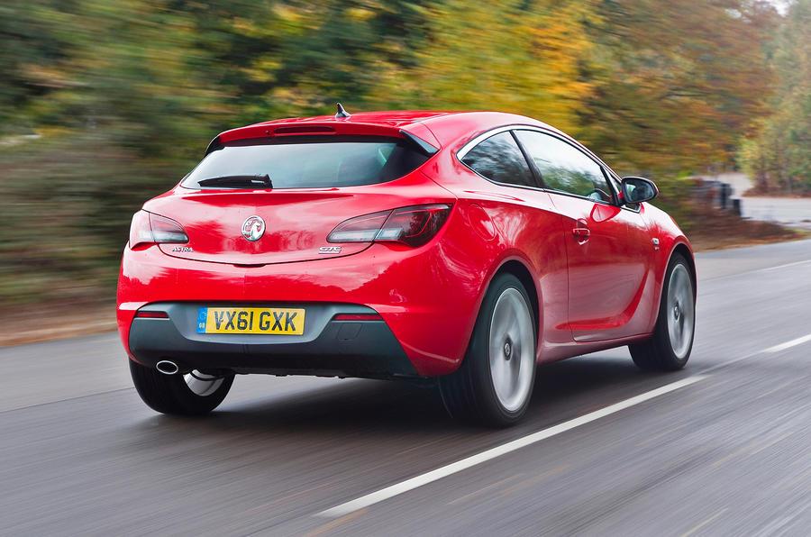 Vauxhall Astra GTC rear quarter