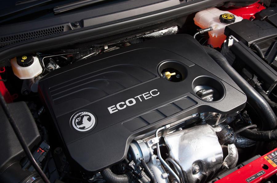1.6-litre Vauxhall Astra GTC petrol engine