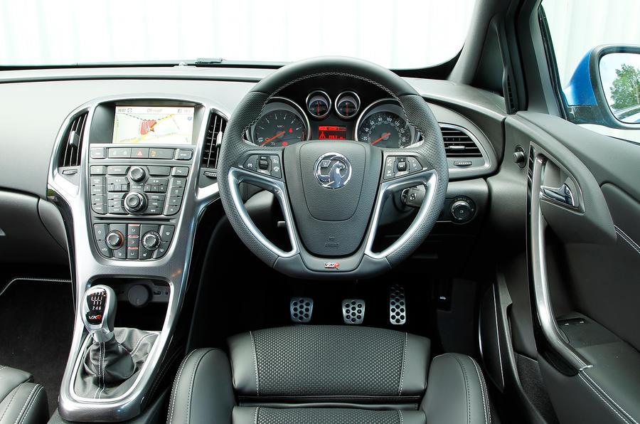 Vauxhall GTC VXR dashboard