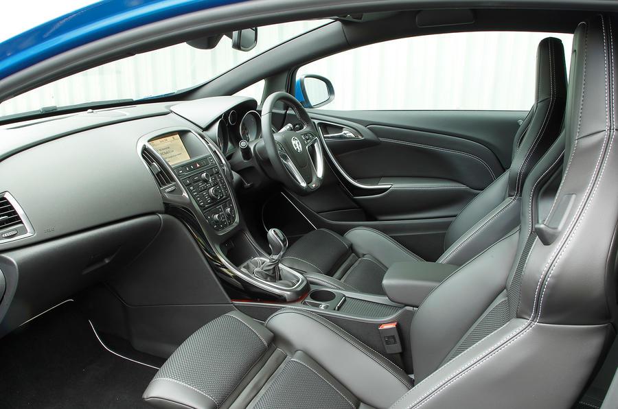 Vauxhall GTC VXR interior