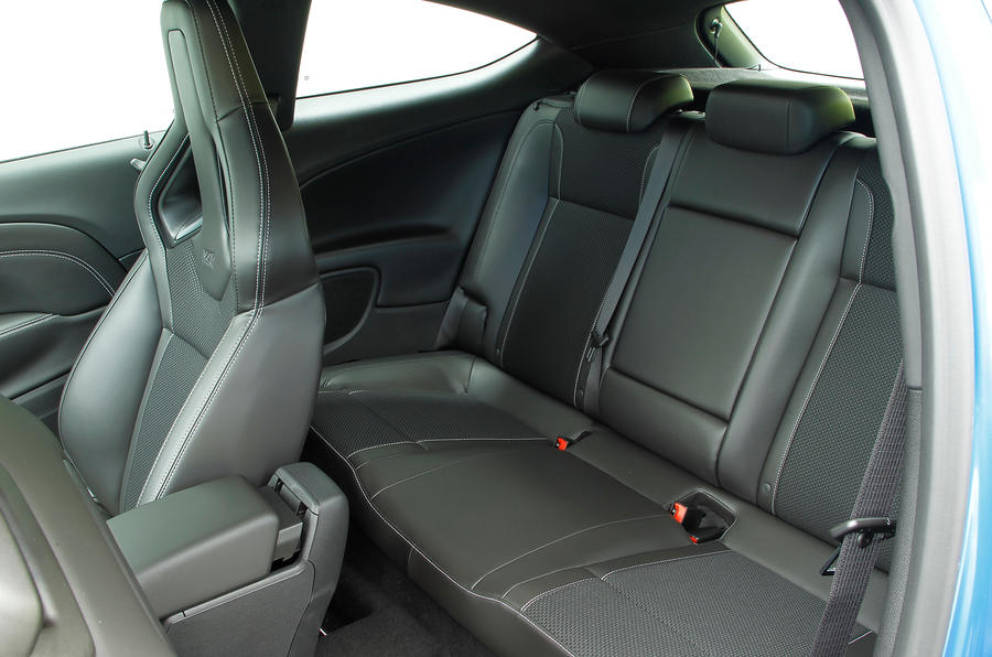 Vauxhall GTC VXR rear seats
