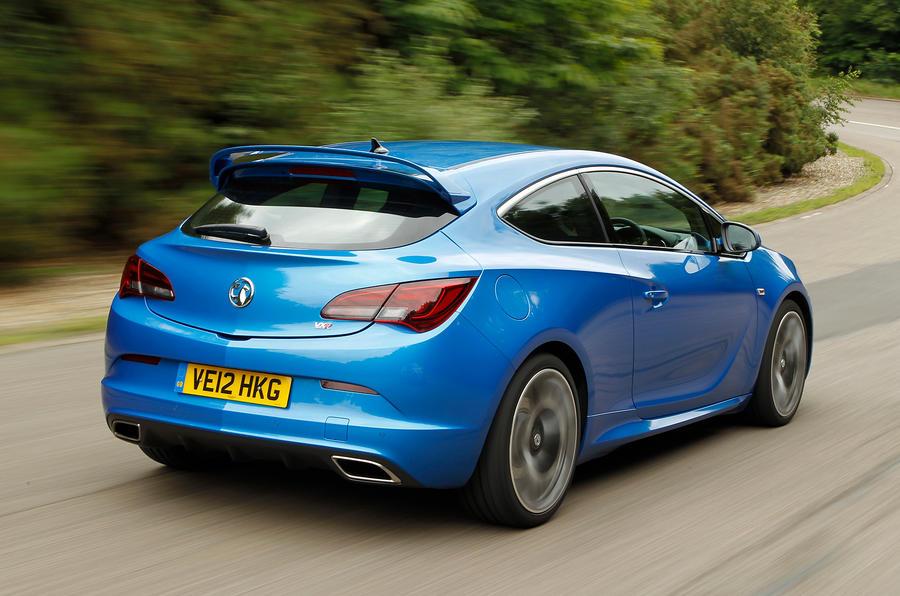 Vauxhall GTC VXR rear quarter