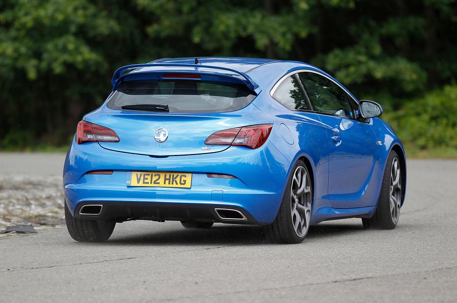Vauxhall GTC VXR rear cornering
