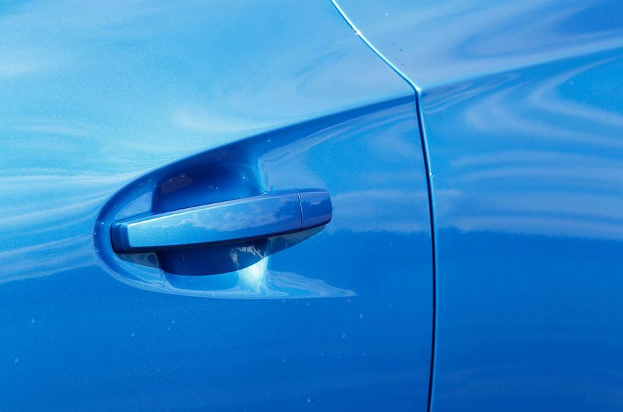 Vauxhall GTC VXR door handles